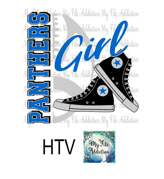 Panthers Football High Tops Rose Wine High Heel Shoe Vector Digital Download File - My File Addiction