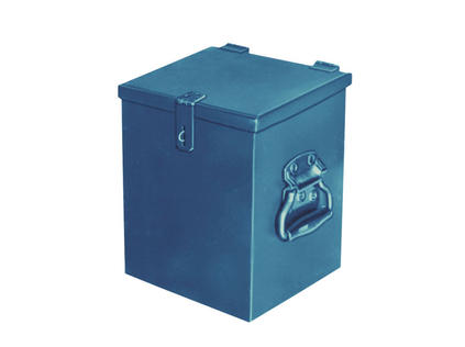 Shielded Rectangular Container