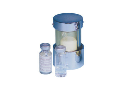 High-Density Lead Glass Vial Shield