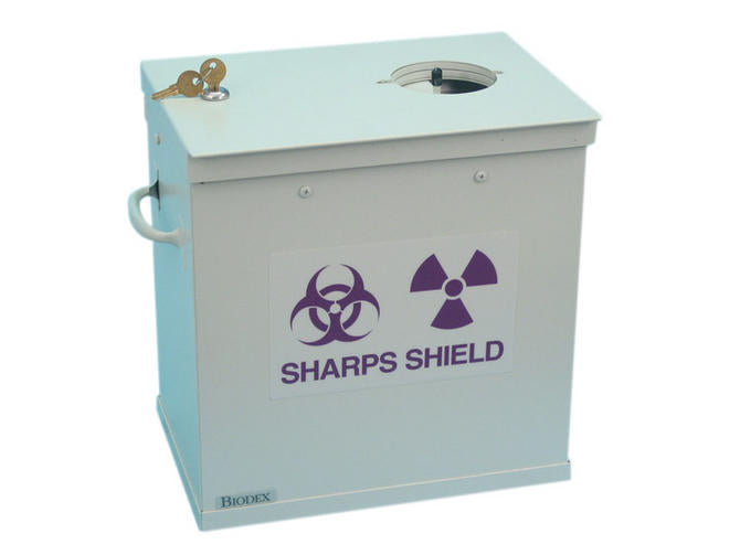 High-Energy Sharps Container Shield