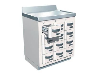 Lead-Lined Radio-Isotope Storage Cabinet