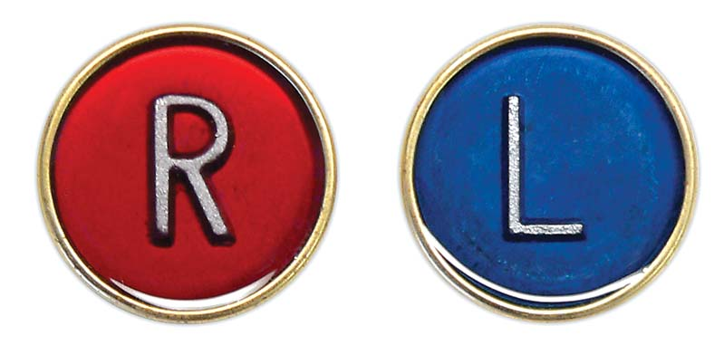 Button R&L Markers