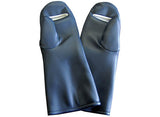 Palm-Guard Slitted Mittens Lead Gloves