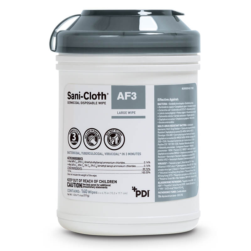 Sani-Cloth® AF3 Germicidal Wipe  (Out of Stock)