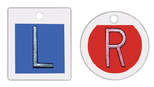 Round-R & Square-L Markers