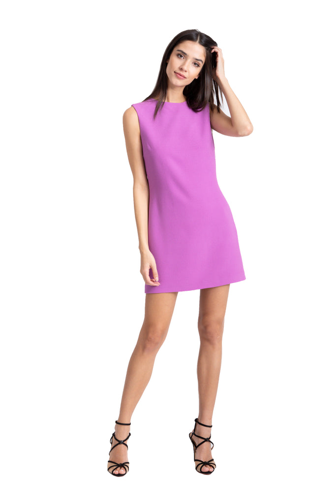 Purple Shift Dress