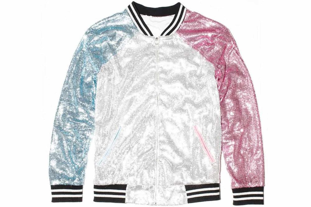 Custom Sequin Bomber