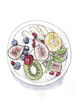 Load image into Gallery viewer, Fruit Bowl Art Print