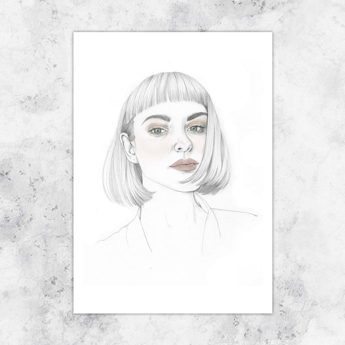 Untitled Portrait 3 Art Print