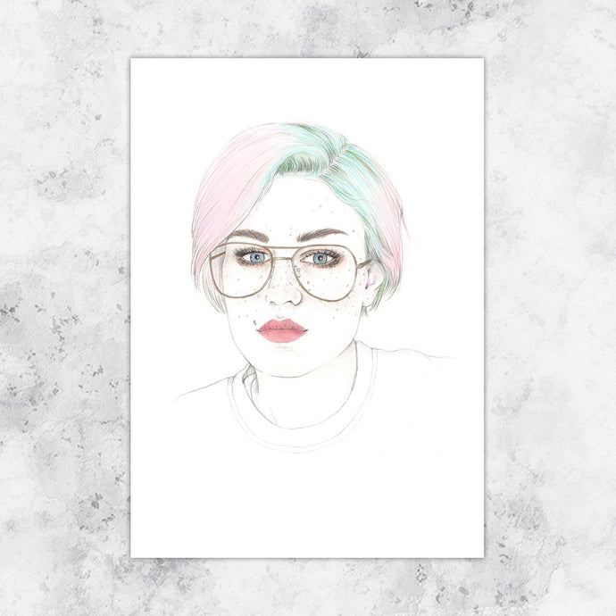 Untitled Portrait Art Print