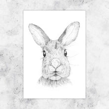 Load image into Gallery viewer, Hare Art Print