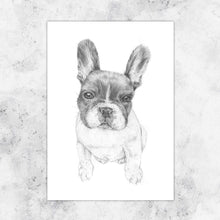 Load image into Gallery viewer, Pablo French Bulldog Art Print