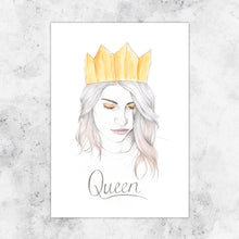 Load image into Gallery viewer, Queen Art Prints