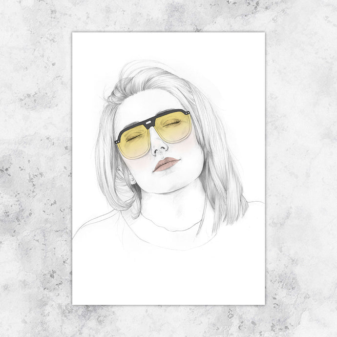 Dior Sunglasses Art Print
