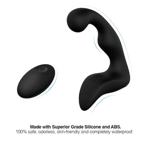 Prostate Massager with Wireless Remote