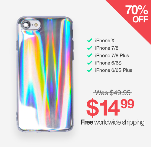 Reflective iPhone Case
