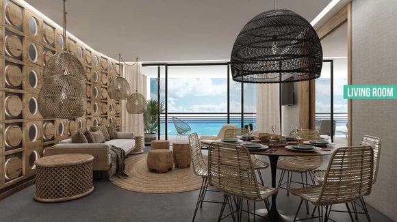 The Fives Condo| Beachfront| 1,2 & 3 BR Start USD$155K