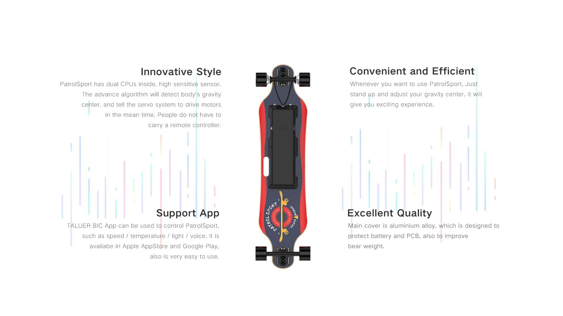 advantages of the electric skateboard