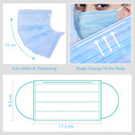 [International Shipping] Ready-to-Ship Single-use Sanitary Mask 3-Layer STOP VIRUS
