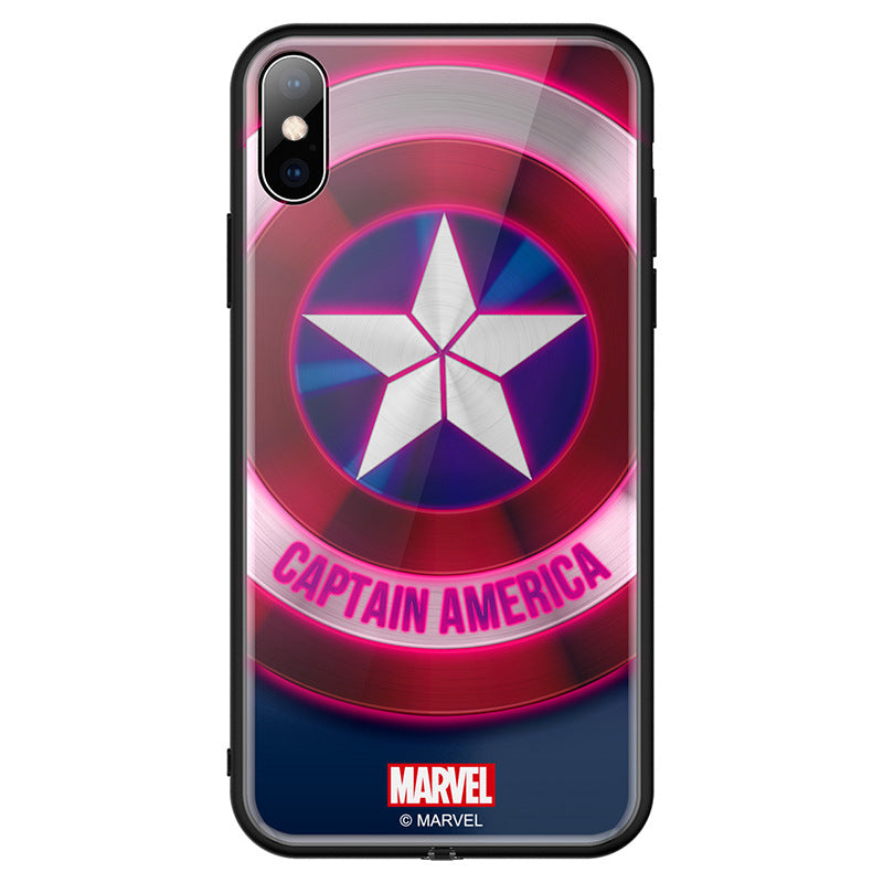 LED Illuminated Light Up phone case for iPhone 11 / 11 Pro / 11 Pro Max with Marvel Graphics