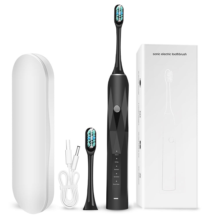 eco friendly teeth whitening electric toothbrush multicolor with Replaceable head for travel case