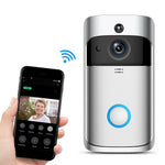Pikewear V5 WiFi Video Doorbell Camera Visual IntercomNight vision IP Door Bell Wireless Home Security Kit