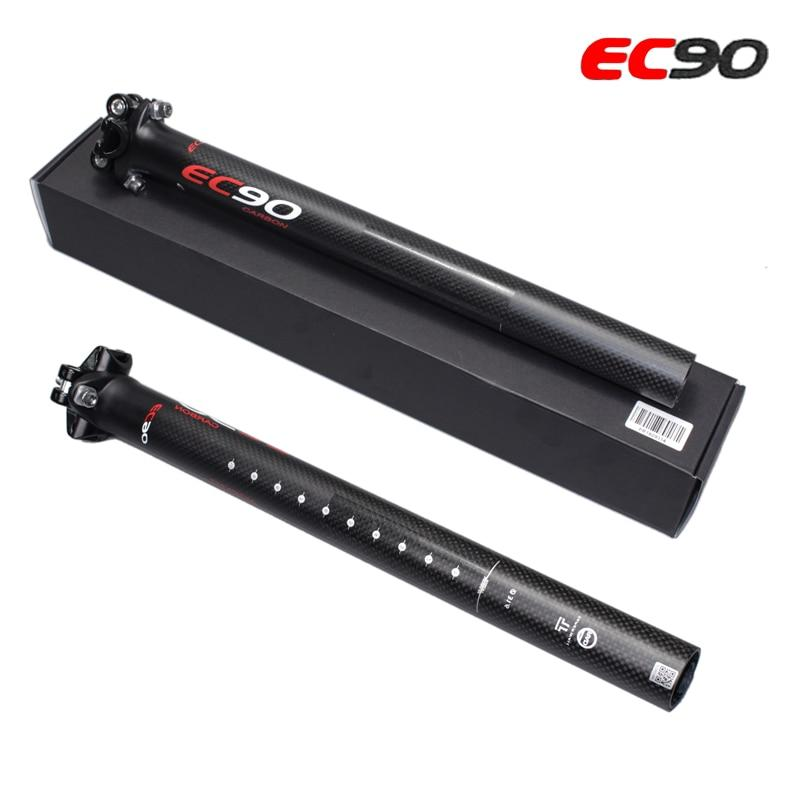EC90 Mountain& Road 3K Full Carbon Fibre Bicycle seatpost carbon bike seatposts MTB bike parts 27.2/30.8/31.6*350mm