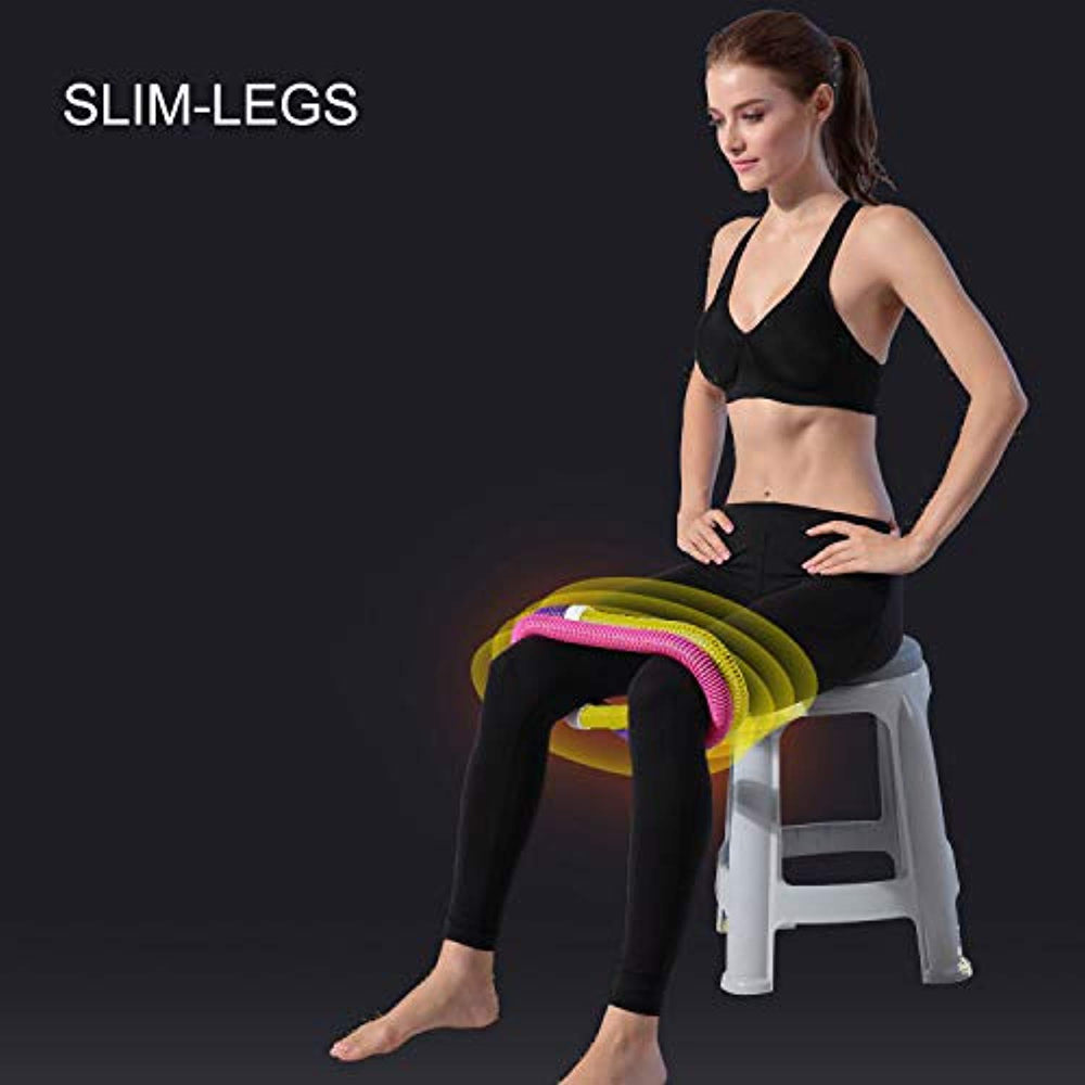 KUYOU Hula Hoop, Soft Spring Hula Hoop for Adults, Fitness Exercise Weighted Hula Hoop Weight Loss Fitness Hula Hoop for Exercise Workout