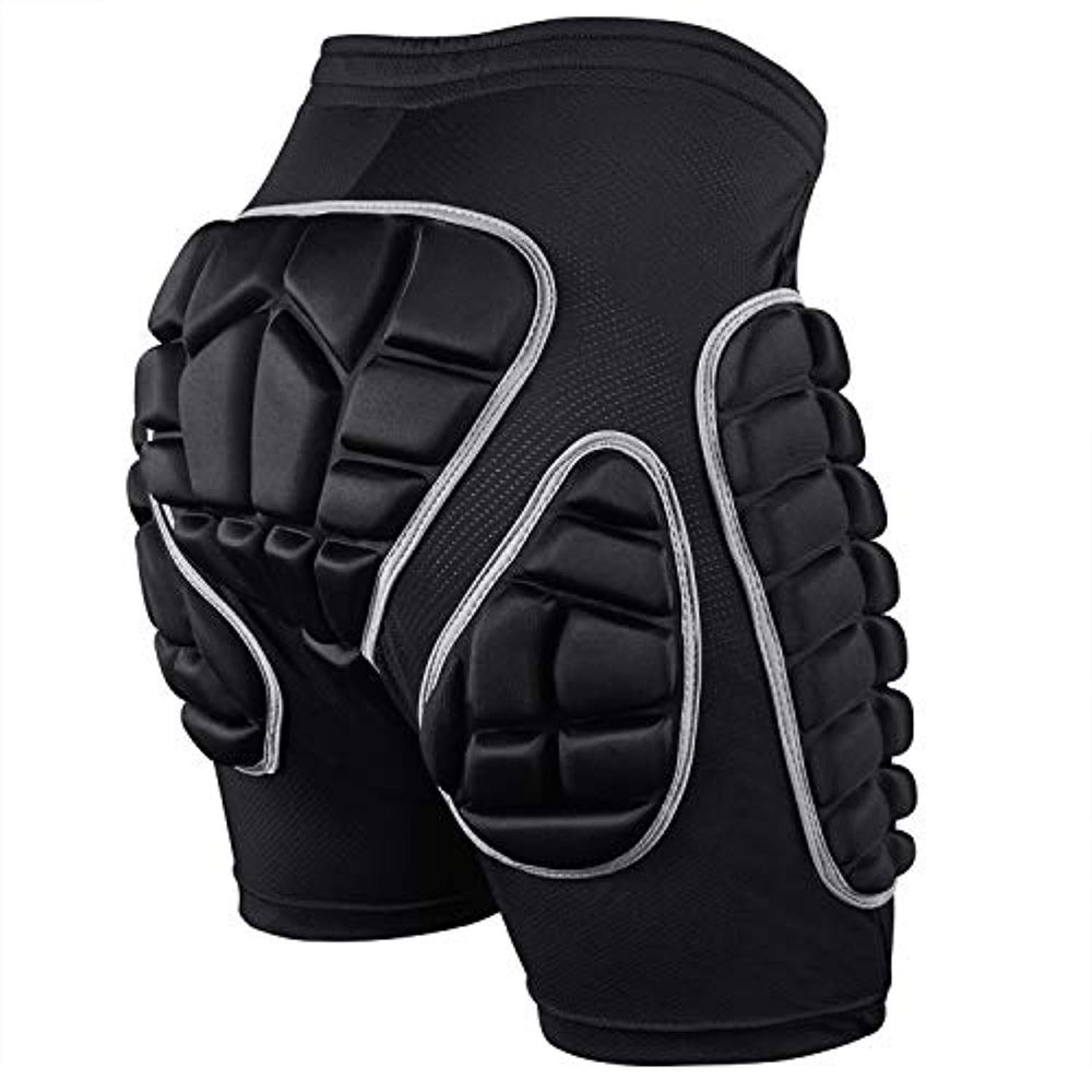 3D Padded Shorts Breathable Lightweight Protective Hip Protector