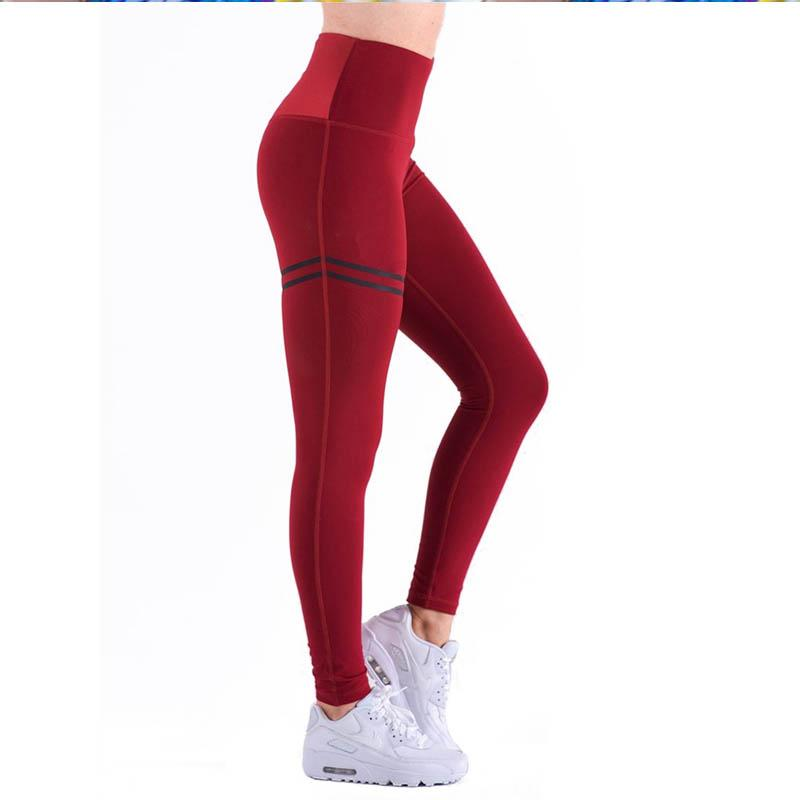 1 pcs Women Sport Pants Sexy Push Up Gym Sport Leggings Women Running Tights Skinny Joggers Pants Compression Gym Pants Soft