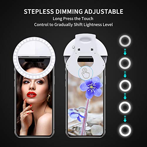 [2019 Newest Rechargeable Battery Selfie LED Camera Lights