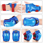 3 in 1 Protective Gear Set Kids Children Knee Pads Elbow Pads Wrist Guards