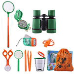 Kids Educational Toy Pack for Backyard Camping Outdoor Adventure Set Kit