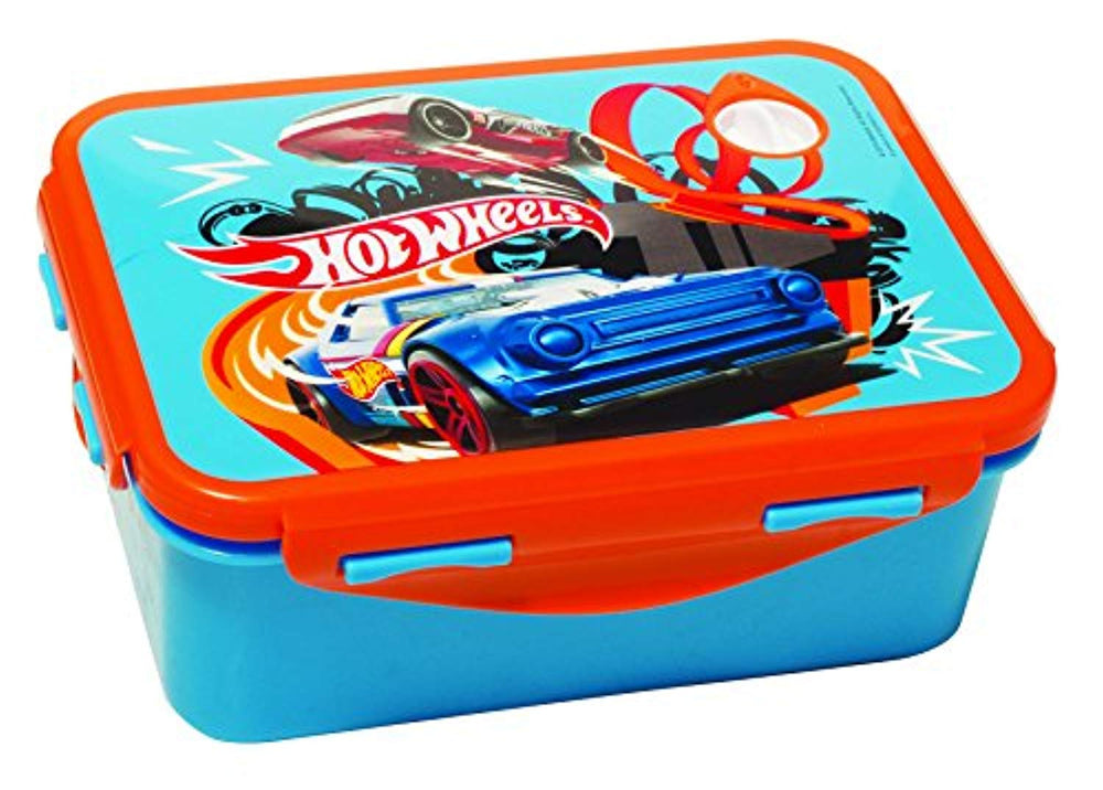 GIM Lunch box Hot Wheels (571-82265) Microwave