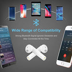 Wireless Built-in Mic & Charging Case for Android Phones Sports TWS Headphone