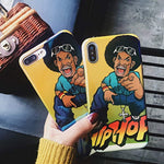 Kuyou Hip Hop Boy Protect soft shell Protective Cover (for Apple iPhone 6s)
