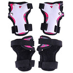 3 in 1 Knee Pads for Kids Protective Gear Set Knee Pads Elbow Pads Wrist Guards