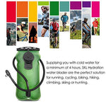 Running Cycling Hiking Hydration  Water Bladder for 2L 2.5L 3L Liter Bag Pack