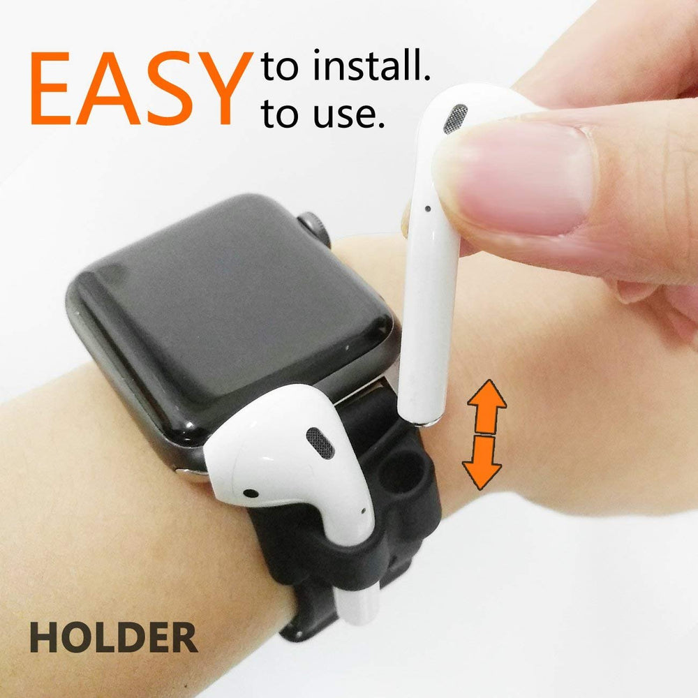 Anti-Lost Silicone Holder Compatible with AirPods Holder