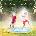 "iYoYo 39"" Sprinkler & Splash Pad Inflatable Water Play Mat Pad Toys for Children, Kids Gift"