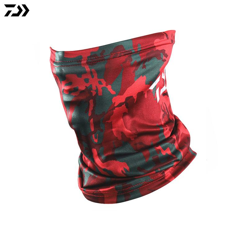 Outdoor Fishing Daiwa Scarf Sun Protection Hiking Cycling Skiing Magic Scarf Fishing Windproof Camouflage Face Mask Fishing Hat