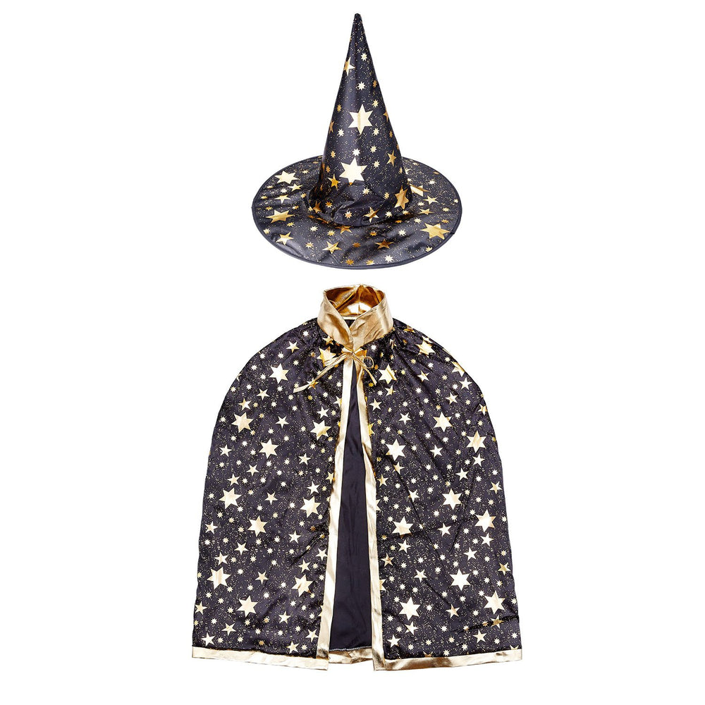 BESTTY Colorful Witch Wizard Kids Cloak Cape