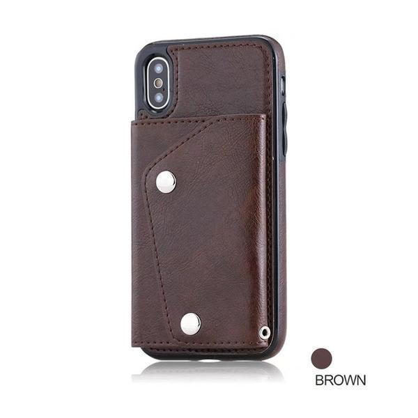 Wallet Flip PU Leather Case For Samsung S7 S8 S9 Edge Plus Note 8 9 Case