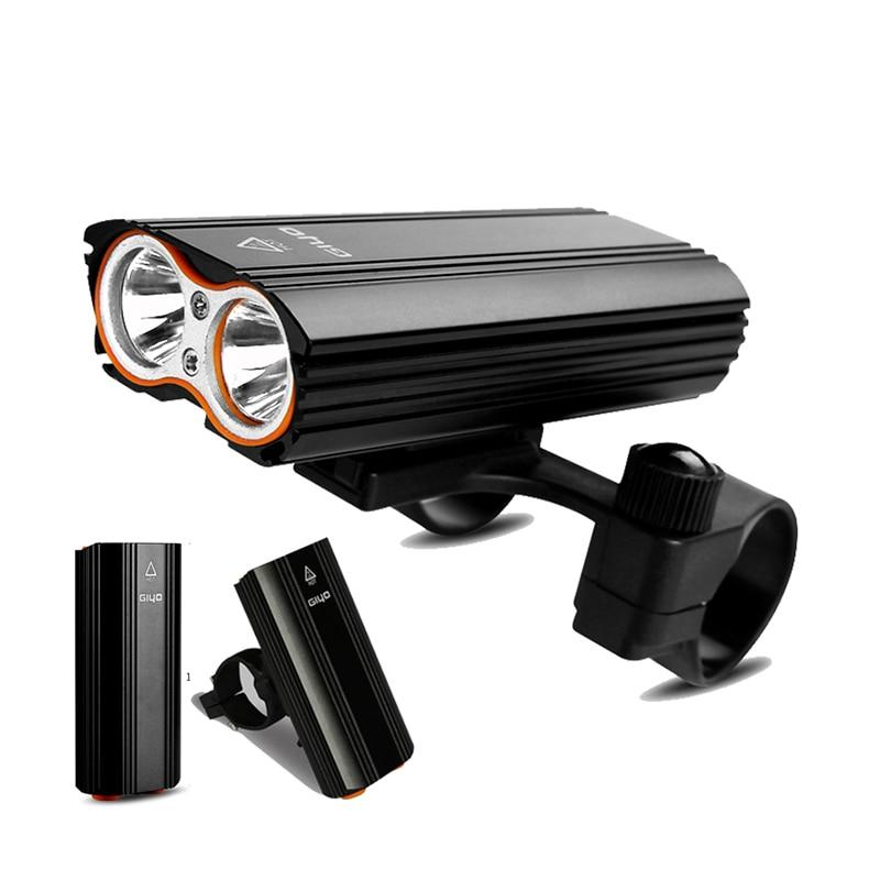 Bicycle Front Light Bicycle 2400Lm Headlight T6 Leds Cycling Flashlight for Mountain Bike or Road Bike