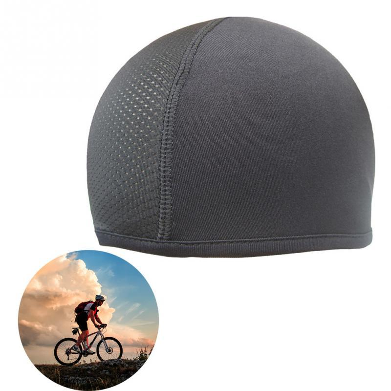 Anti-UV Anti-sweat Quick Dry Helmet Cycling Cap Sports Hat Motorcycle Bike Riding Bicycle Cycling Hat