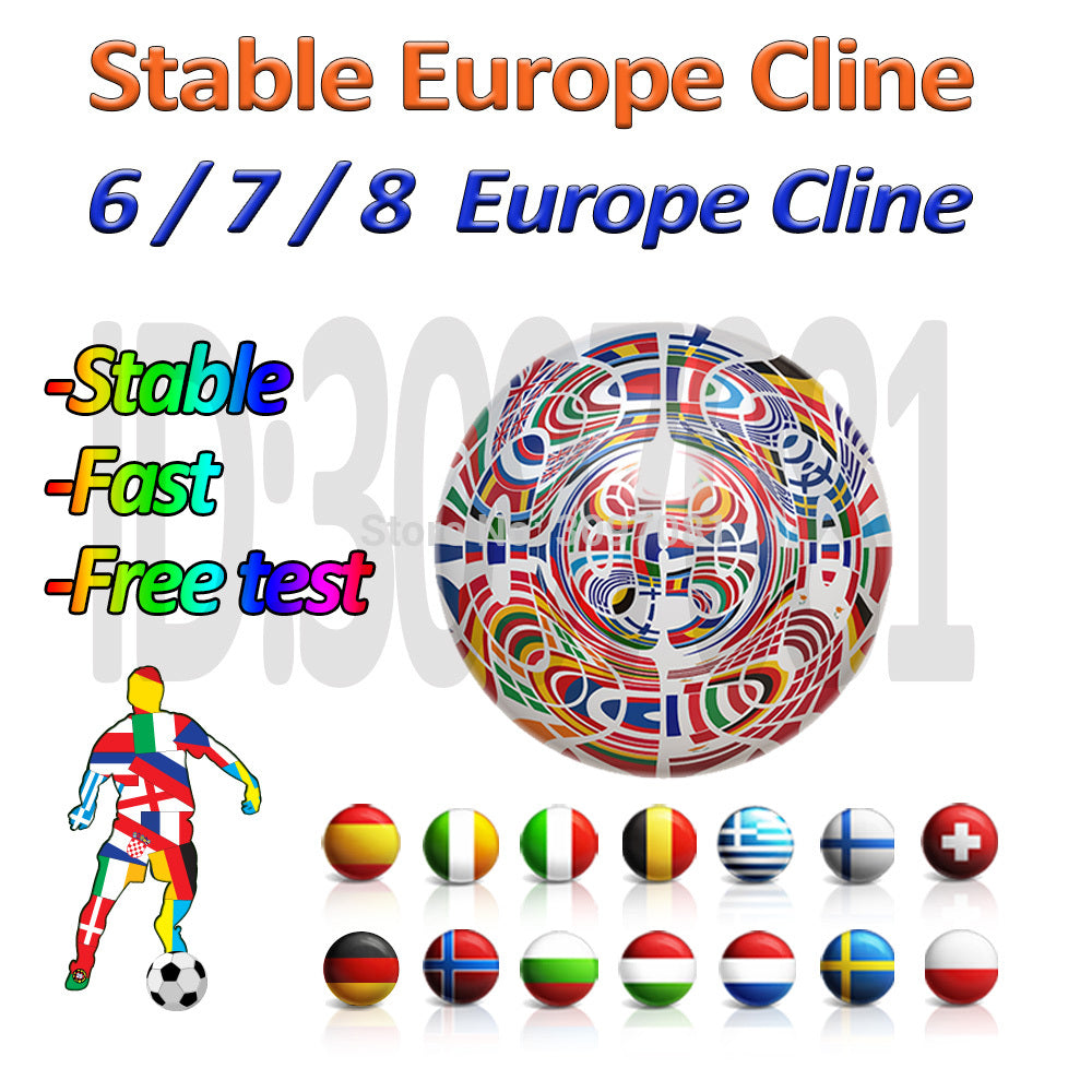 [Europe Only] Digital HD Europe cccam Cline for 1 year Spain support HD DVB-S2 Satellite TV Receiver GTmedia V8 Nova Europe Spain Portugal