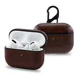 For Apple AirPods Pro Bluetooth Wireless Earphone Leather Case Cover For AirPods Pro 2019 Funda Cover Charging Box Cases with Quicklink String