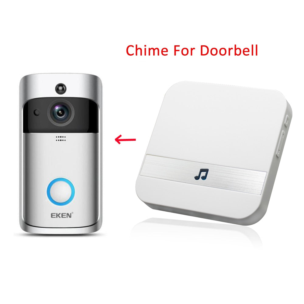 Indoor Doorbell Chime For V5 Door Bell AC 110-220V With US UK EU AU Plug For Home Classroom Office Smart Chimes