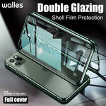 Tempered Glass Magnet Cases Cover