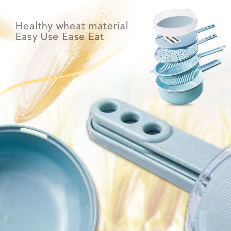 8 in 1 Vegetable Slicer Potato Peeler Carrot Onion Grater with Strainer Vegetable Cutter Kitchen Accessories